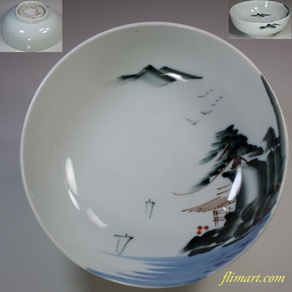 山水丼鉢W5805