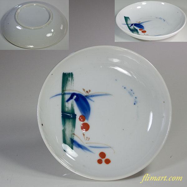 竹柄小皿W5945