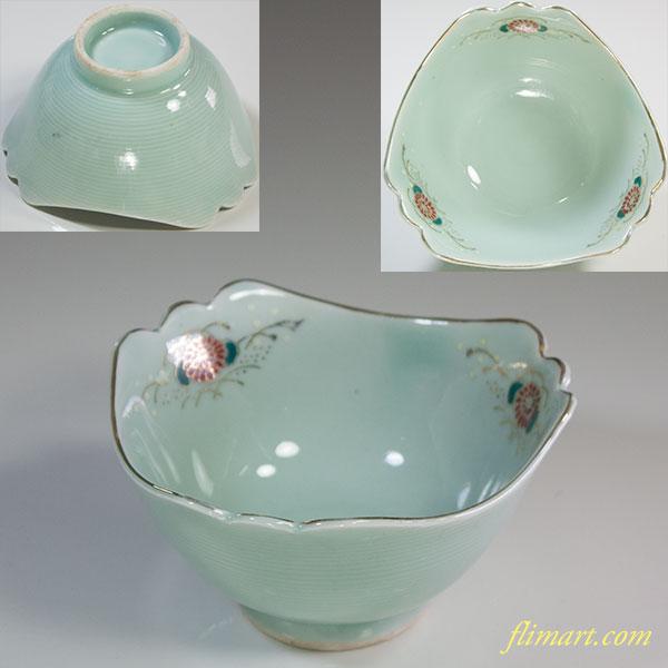 青磁小鉢W5928