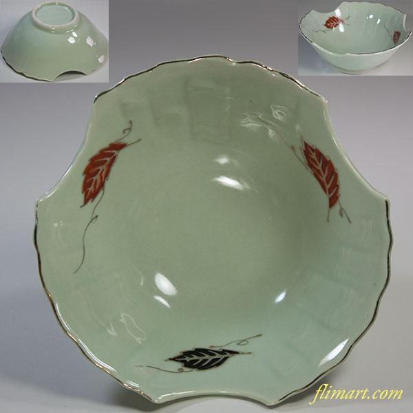 青白磁五寸半鉢W5940