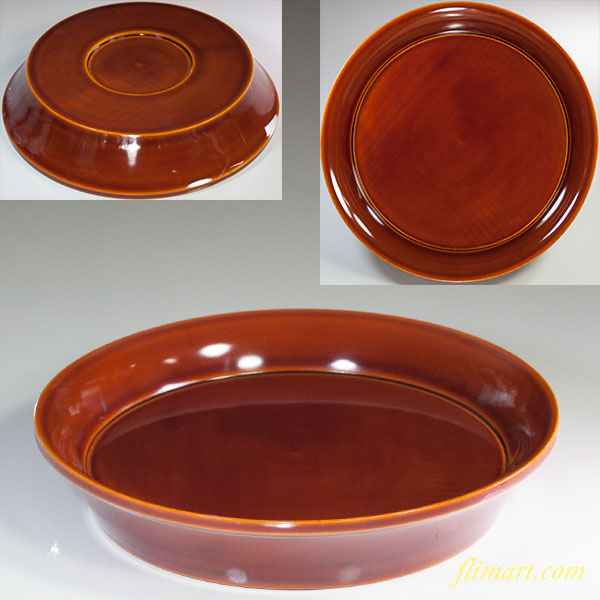 春慶塗丸盆W5975