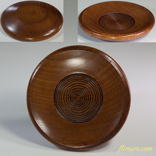 木製茶托W5995