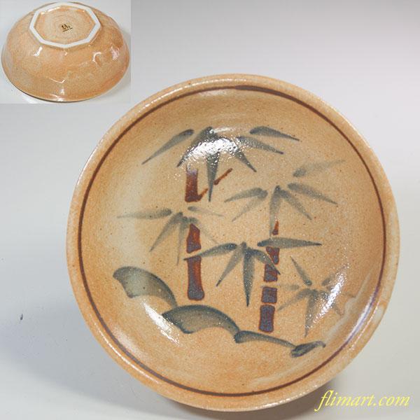 たち吉竹小鉢W5982