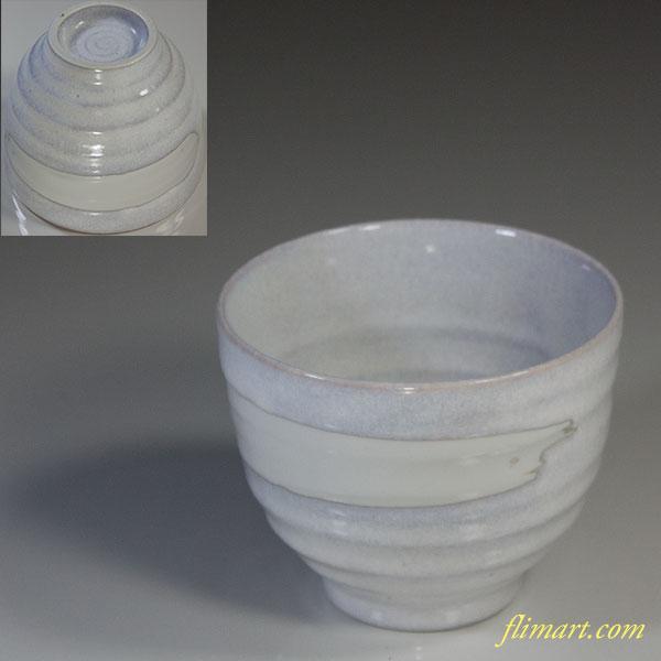白釉碗W6006
