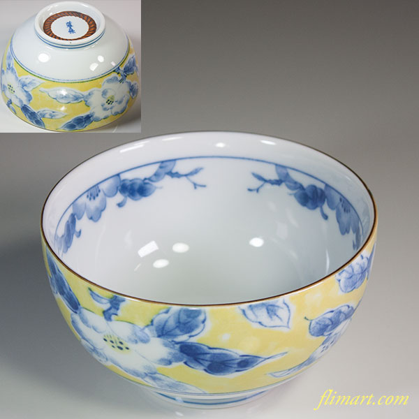椿柄小丼鉢W6085