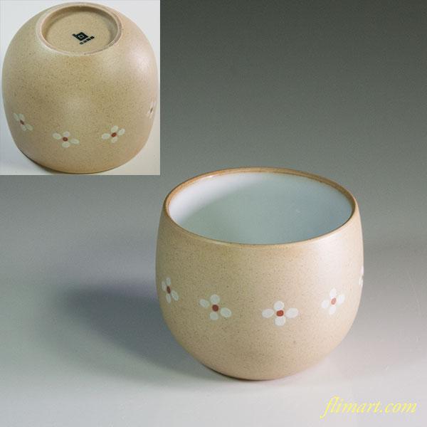 白山陶器小梅湯呑