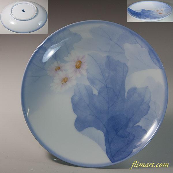 乃りたけノリタケ花柄六寸皿W6211