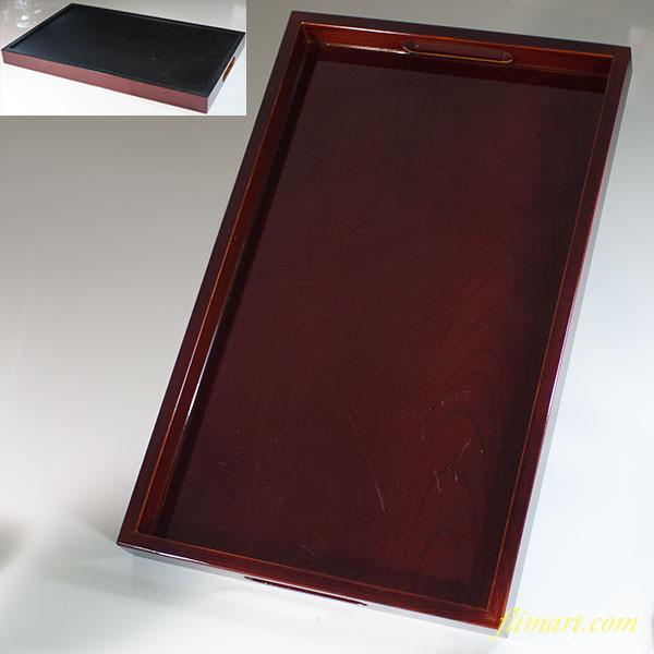 木製長手盆W6195