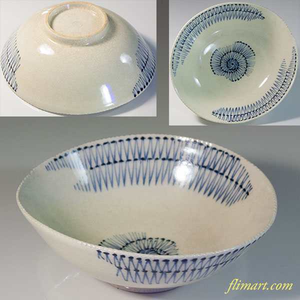 清水焼嘉豊陶苑向付扁平小鉢