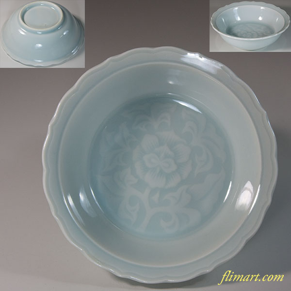 久峰青白磁小鉢