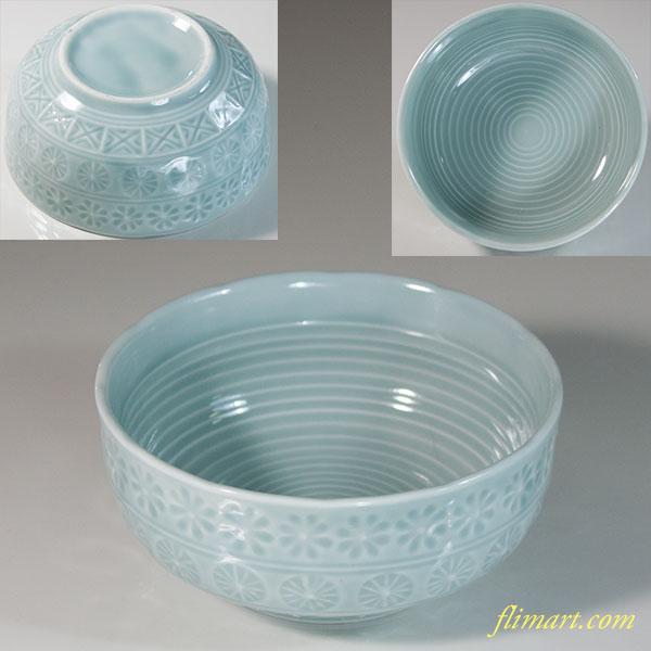 三島青白磁小鉢W6229