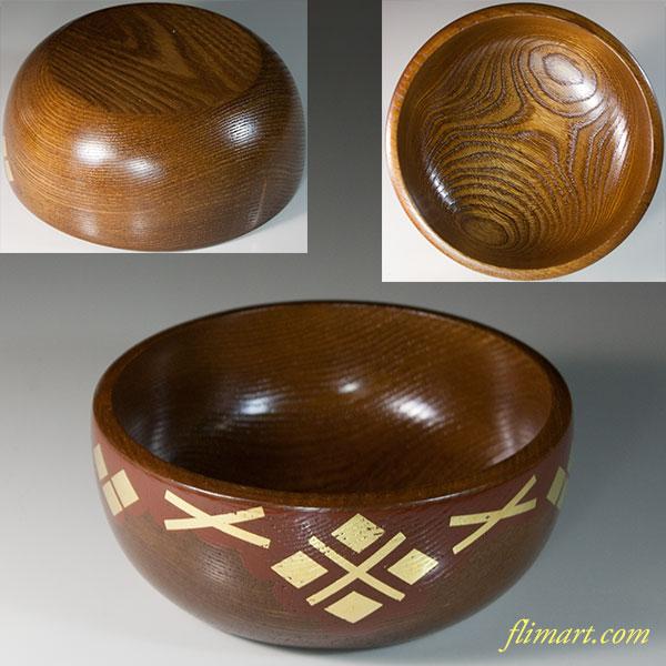 南部秀衡塗(ひでひらぬり)小菓子鉢