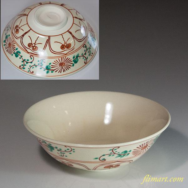 京焼隆山抹茶碗W6240