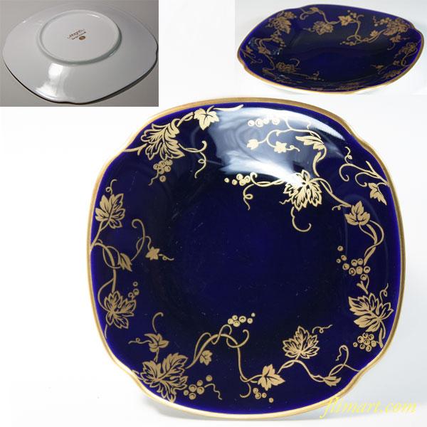 Sango Magna 瑠璃金彩葡萄柄小皿