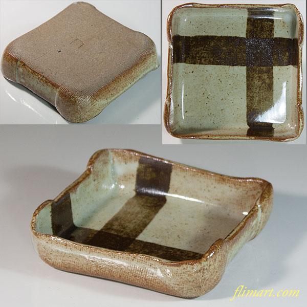 岩殿窯銘々皿W6336