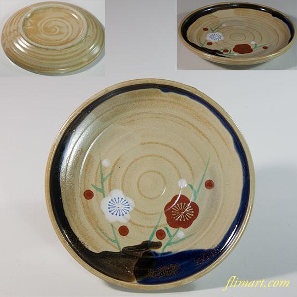 梅図小皿W6327