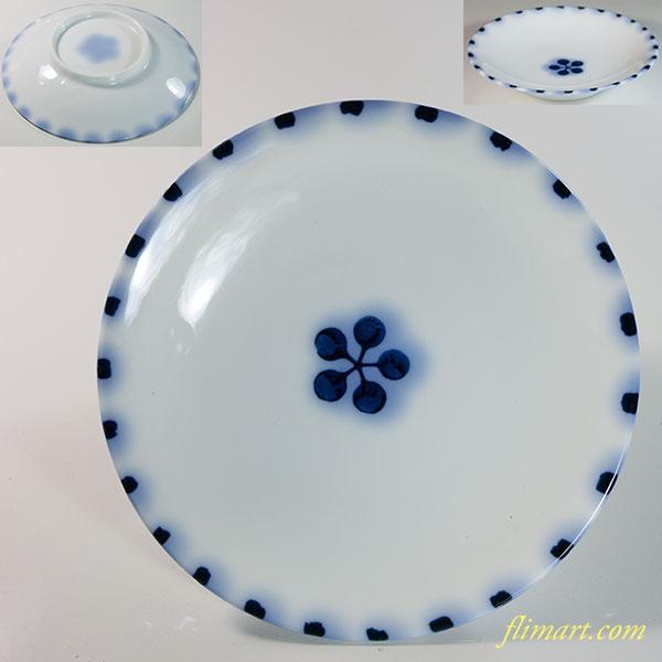 梅紋小皿W6527