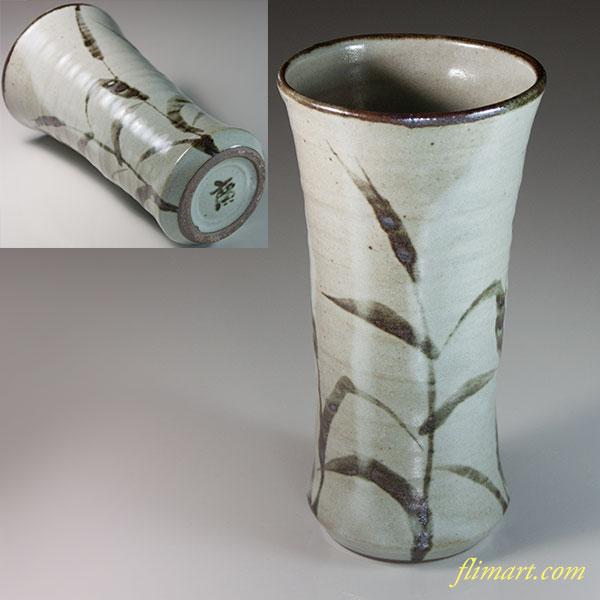 廣司窯廣千窯高木廣司花瓶