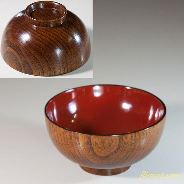 木製汁椀W6555