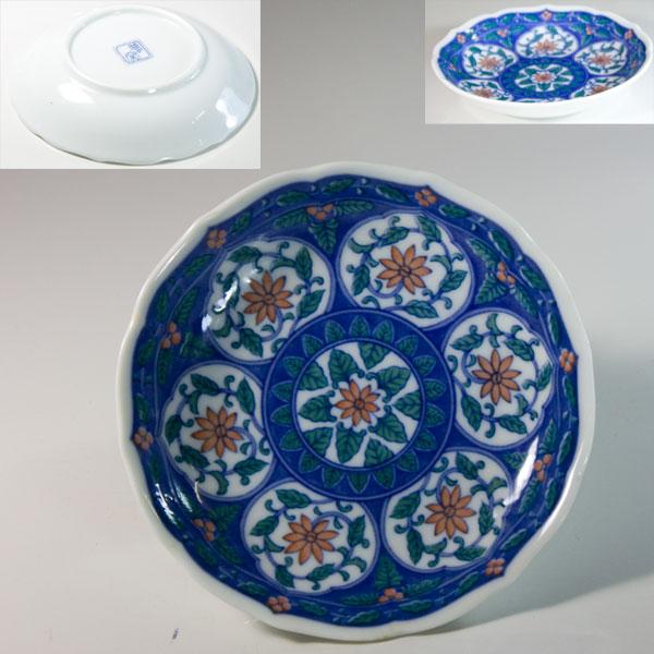 夢窯小皿W6591