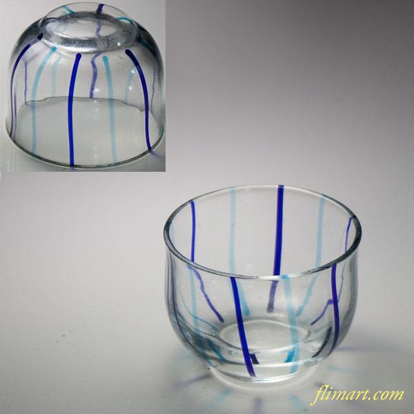 ガラス猪口W7007