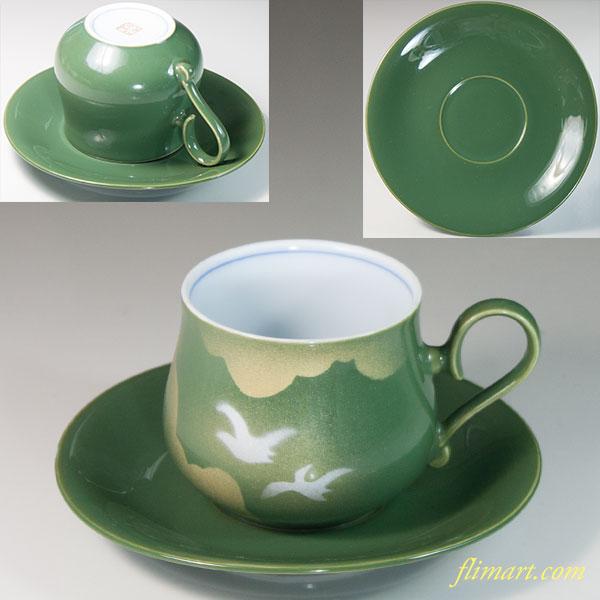 九谷焼碗皿W6632