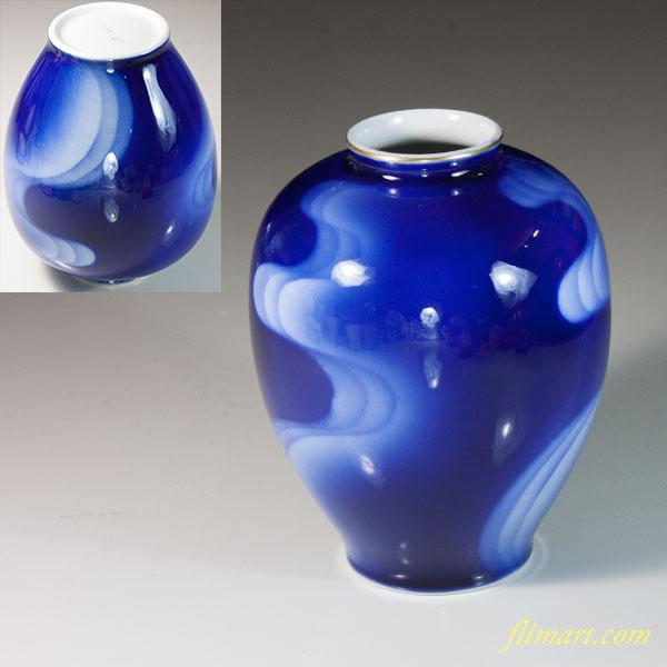 深川製磁花瓶W6672