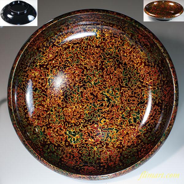津軽塗菓子鉢W6698