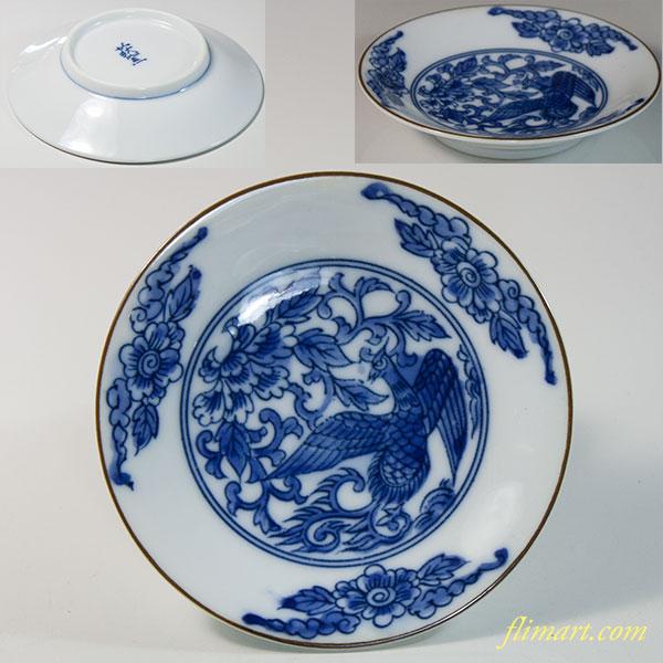 萩窯豆皿W6748