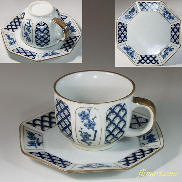 八角碗皿W6722