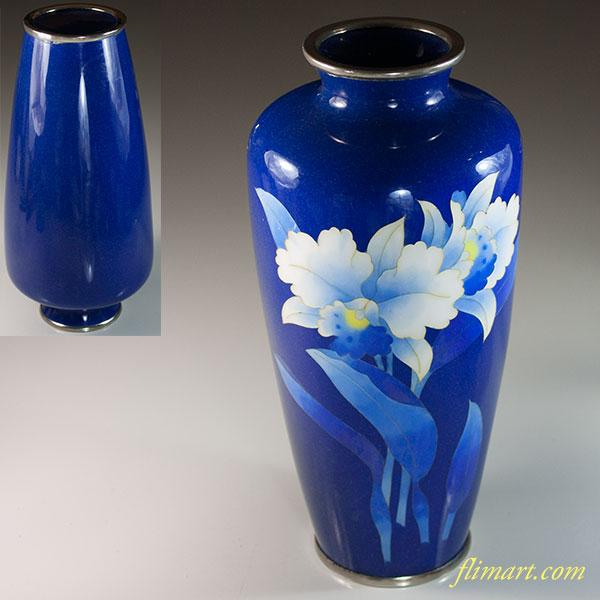 七宝花瓶W6724