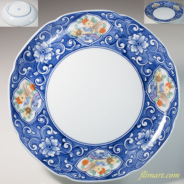 七寸皿W6727