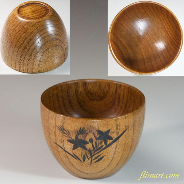 木製汁椀W6756
