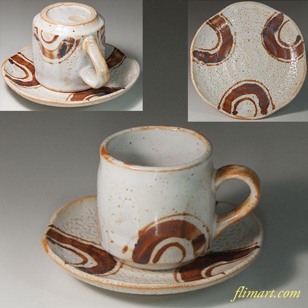 志野碗皿W6789