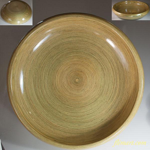 飛騨千巻工芸一尺大鉢W6815