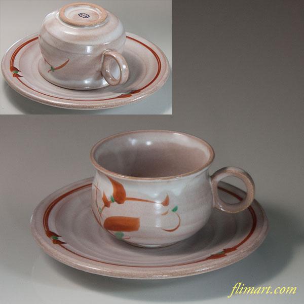 たち吉赤絵碗皿