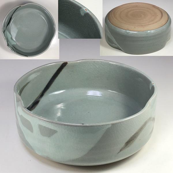 青磁菓子鉢W7371