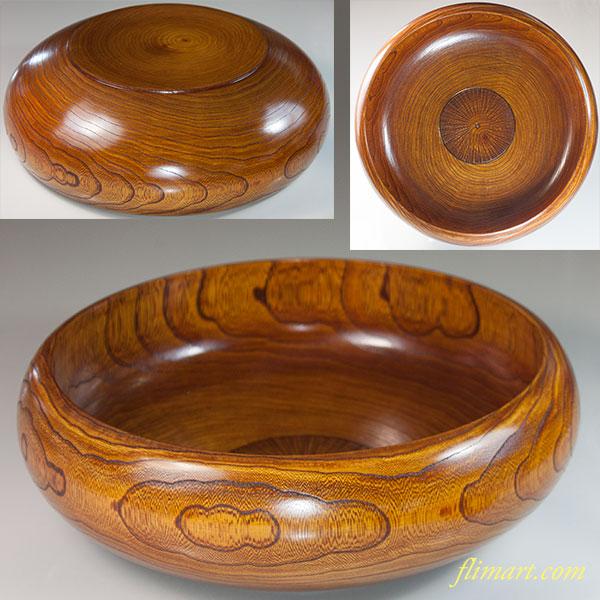 木製漆器菓子鉢W6811