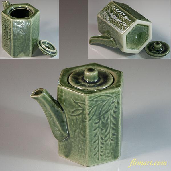 緑釉たれ差しW7071