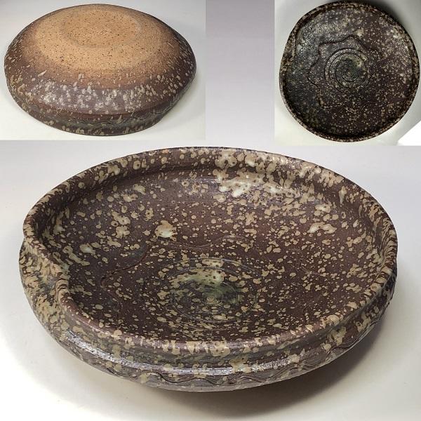 信楽焼ひろじ菓子鉢