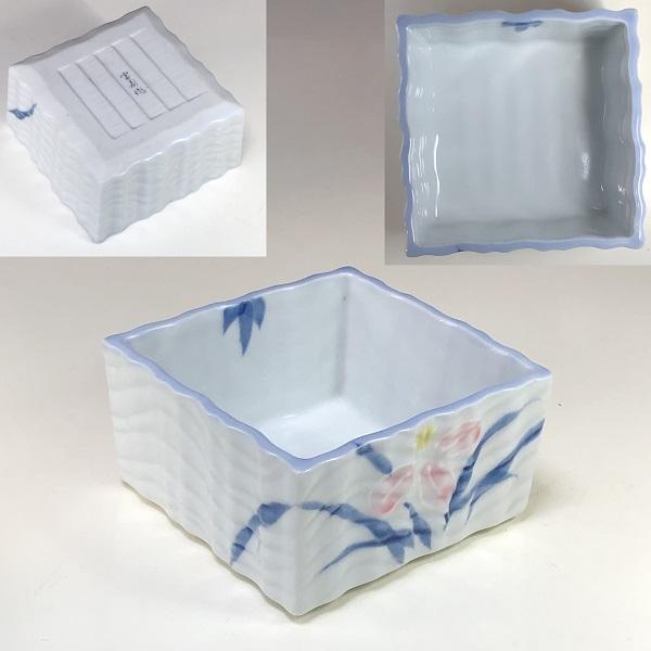 宝寿蘭角小鉢W7543