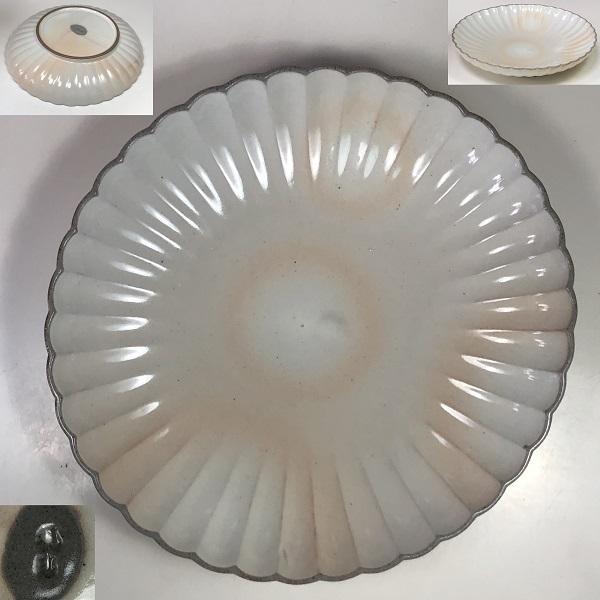 たち吉菊花楕円皿W7589