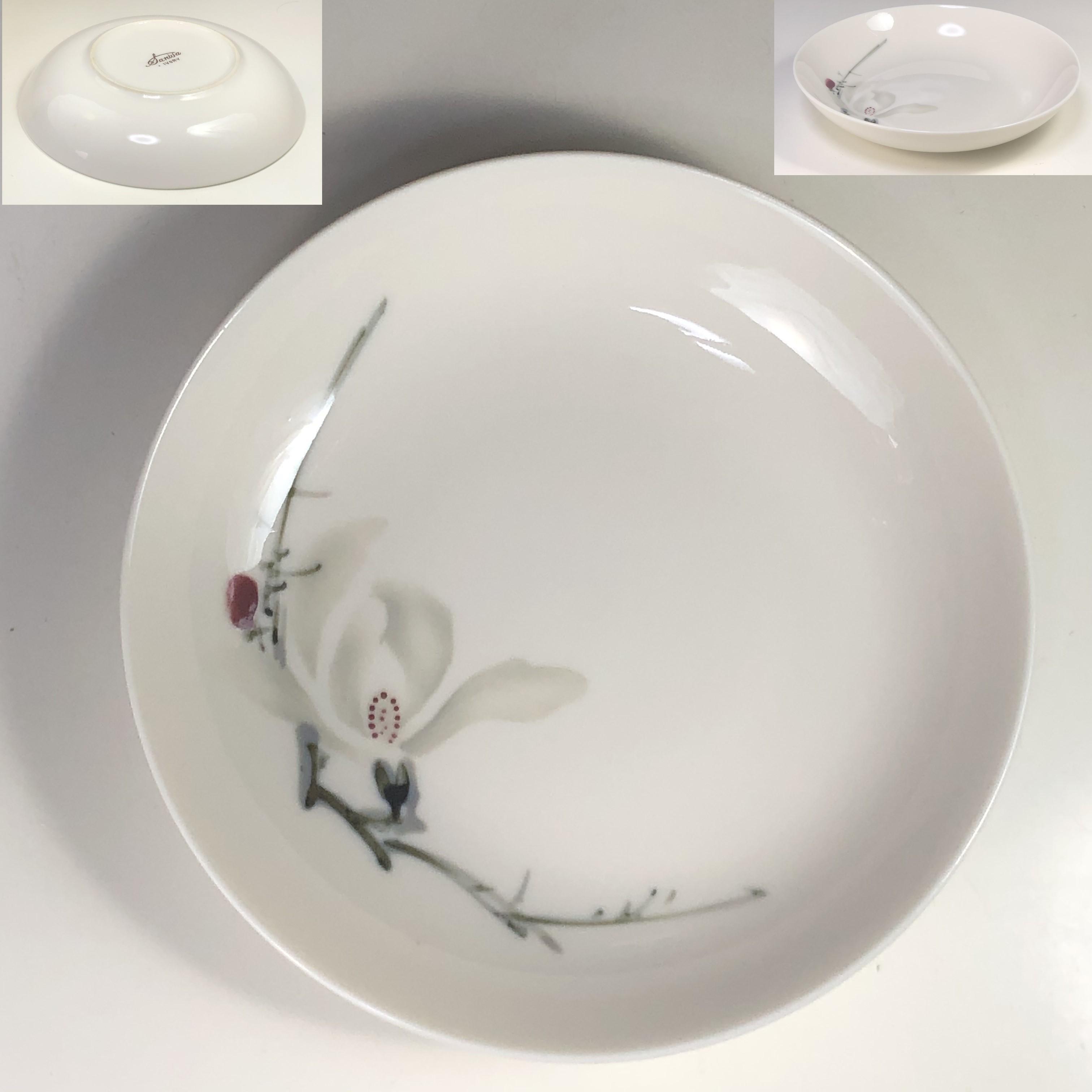 三和アイボリー小皿W7596