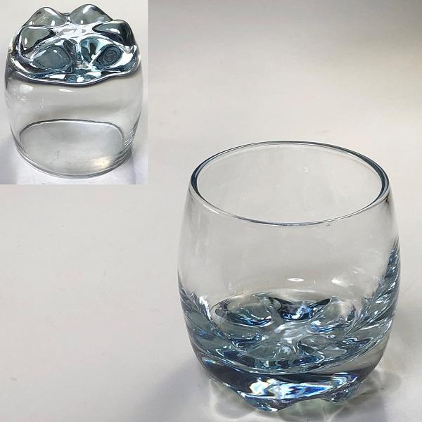 カメイガラスブルー冷酒グラス