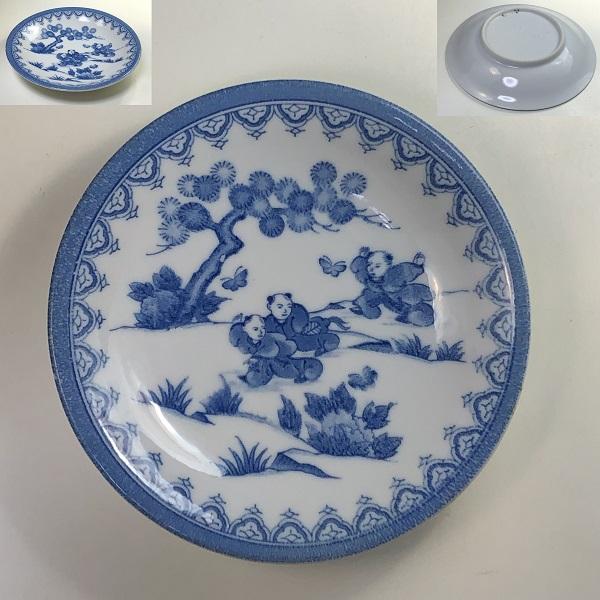 唐子小皿W7724