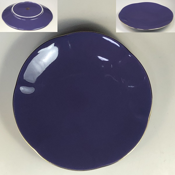 前畑陶器庫山窯小皿W7723