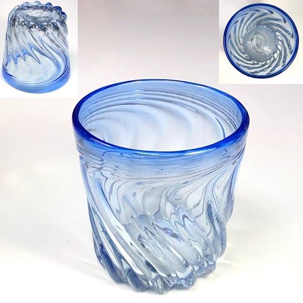 琉球ガラスコップW8152