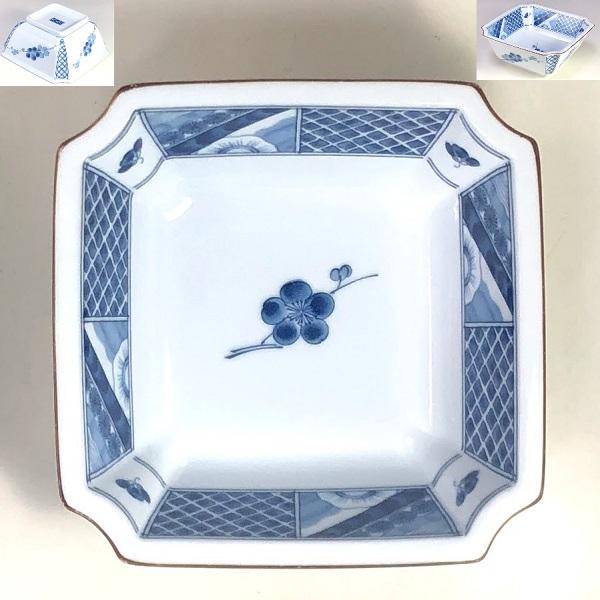乃りたけノリタケ角小鉢W8169