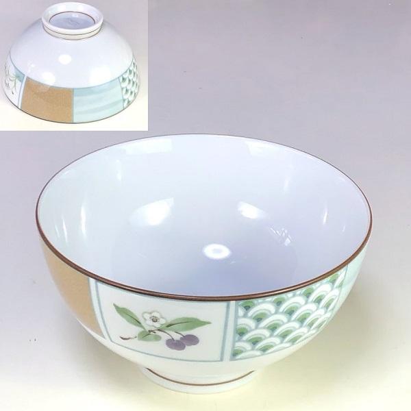 乃りたけノリタケ飯茶碗W8192