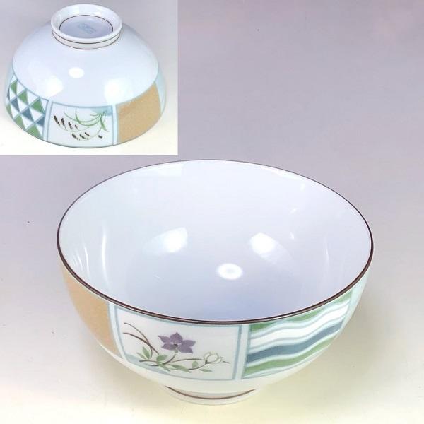 乃りたけノリタケ飯茶碗W8203